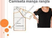 camiseta señora manga rangla. Tema