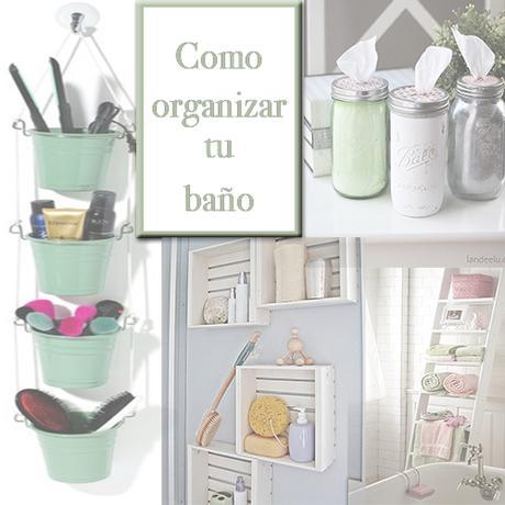 Fant sticas ideas para organizar tu ba o paperblog for Como organizar el bano
