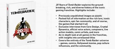 Square Enix anuncia los eventos del 20 aniversario de Tomb Raider