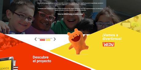 GENIOS. Ayuda en acción y Google se unen para educar en programación #GEN10S