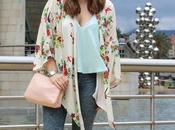 Outfit sportychic kimono flores