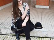 Outfit Kimono Peplum Curvy Girl