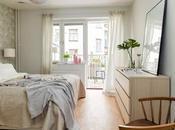 dormitorio femenino papel pared floral