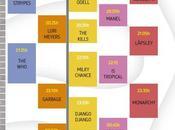 disponibles horarios Cool Festival 2016