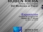 Rubén Riera modelaje papel