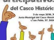 Presupuestos Participativos 2016 Junta Municipal Casco Histórico