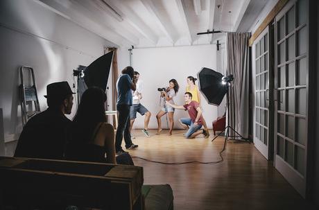 Equipo basico de fotografia de estudio 63