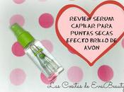 Review Sérum Capilar Puntas Secas Efecto Brillo Avon