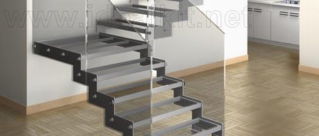 Top de escaleras para espacios reducidos menos es m s for Escaleras modernas para espacios pequenos