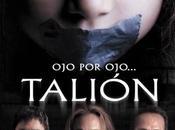 Nuevo afiche cinta chilena #Talión. Estreno cines #Chile, Junio