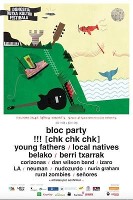 Donostia kutxa kultur festibala 2016 bloc party for Oficina kutxabank madrid