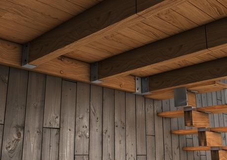 Altillo de madera paperblog for Como hacer una escalera para entrepiso