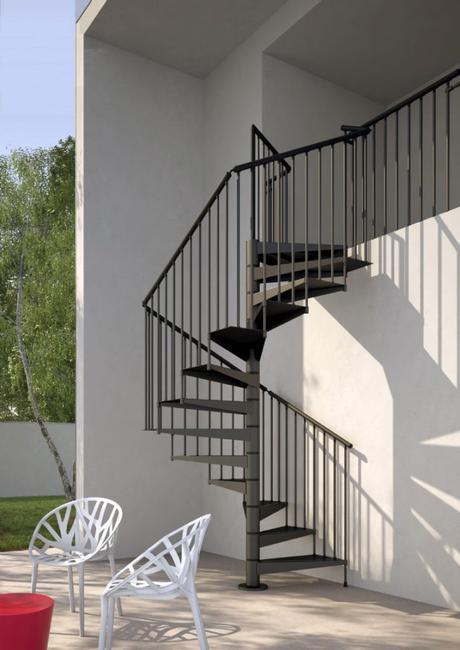 ventajas de las escaleras de caracol tanto de madera como metlicas