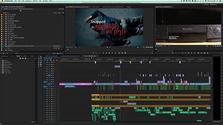 Flujo de trabajo de edición básico en Premiere Pro