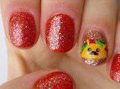 Taco kawaii nails