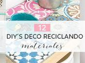 Diy´s deco reciclando materiales