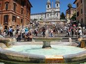 Piazza Spagna alrededores Scalinata Santa Trinità Monti: ¿quién corrió gastos?
