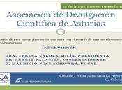 Presentación oficial «Asociación Divulgación Científica Asturias»