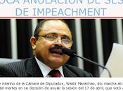 Insólito: Maranhao revoca decisión continúa golpe democracia Brasil videos]