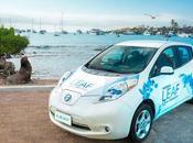 Nissan LEAF, opción movilidad limpia para Galápagos