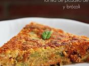 Tortilla picadillo león brócoli