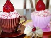Cupcakes fresa