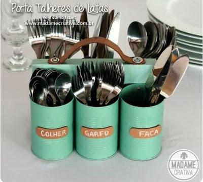 11 maneras de reutilizar latas de conserva paperblog - Reciclar latas de conserva ...