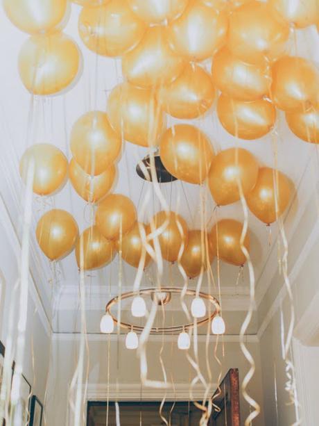 decorar cumpleaños con globos