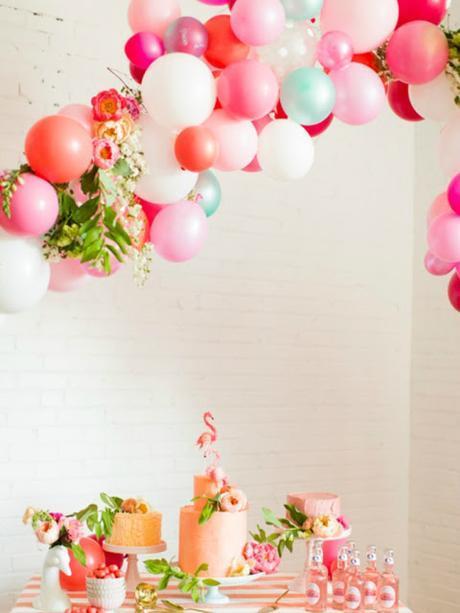 como decorar fiestas con globos