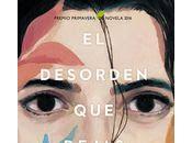 Presentación Vigo Coruña desorden dejas Carlos Montero (Espasa, 2016) Ganador Premio Primavera novela