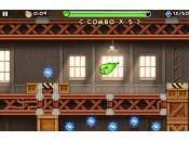 Spunk Moxie, pequeño plataformas habilidad controla solo botón