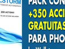 Pack +350 Acciones Gratuitas para Photoshop