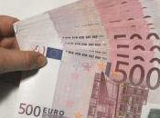 euros: billete dinero negro