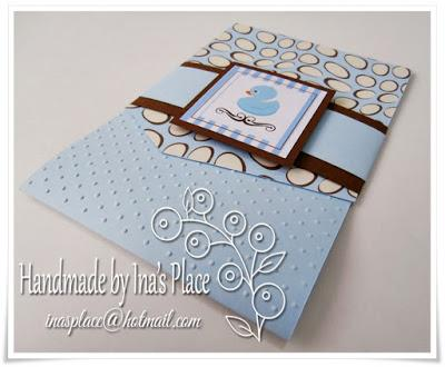Invitación Baby Shower - Baby Blue Little Duck - Gifts Ideas.