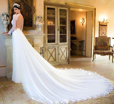 Colas vestidos novia desmontables