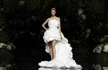 Cola del vestido de novia significado