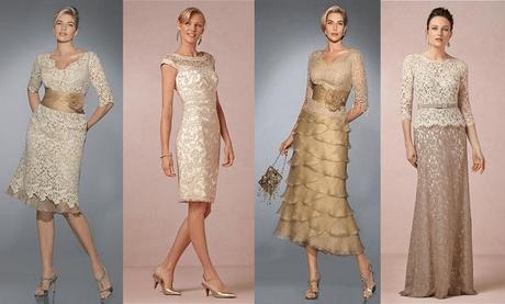 Vestidos de senora para bodas de oro