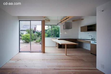 Casa minimalista de dos pisos en jap n paperblog for Casa minimalista japon
