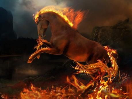 El jinete del caballo rojo del Apocalipsis. Guerras y rumores de guerras