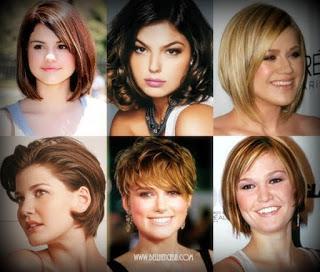 Tipos de corte de cabello segun rostro