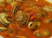 Cómo hacer caracoles salsa picante