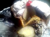 Bizcocho marmolado pera