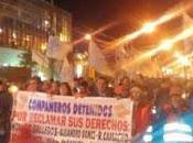 Nueva marcha antorchas Ushuaia contra ajuste Rosana Bertone