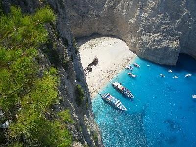La isla griega de Zakynthos