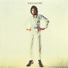 Discos: Who came first (Pete Townshend, 1972)