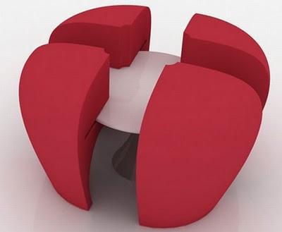 Ahorrar espacio mesa para espacios peque os paperblog for Mesas para espacios reducidos