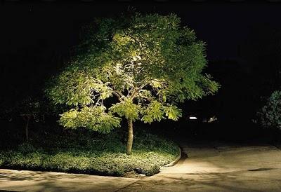 Iluminaci n de exteriores y jardines paperblog for Focos para exterior jardin