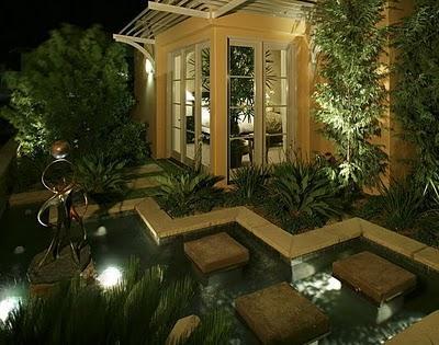iluminacin de exteriores y jardines