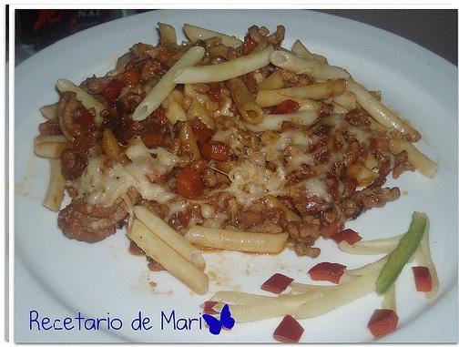 MACARRONES CON CARNE Y MALTA (PASO A PASO)
