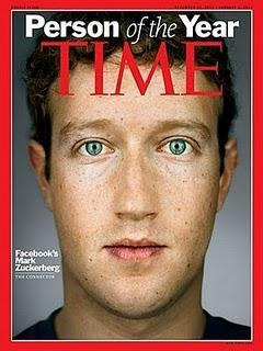 La Persona del Año 2010 de TIME es un joven de 26 años que se llama Mark Zuckerberg, el padre de Facebook